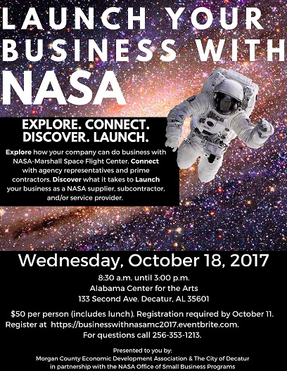 Launch Your Business with NASA Event