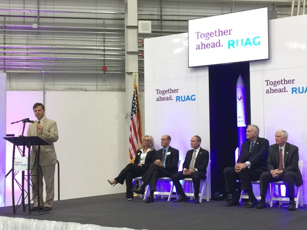 RUAG Space celebrates opening its facility in Decatur